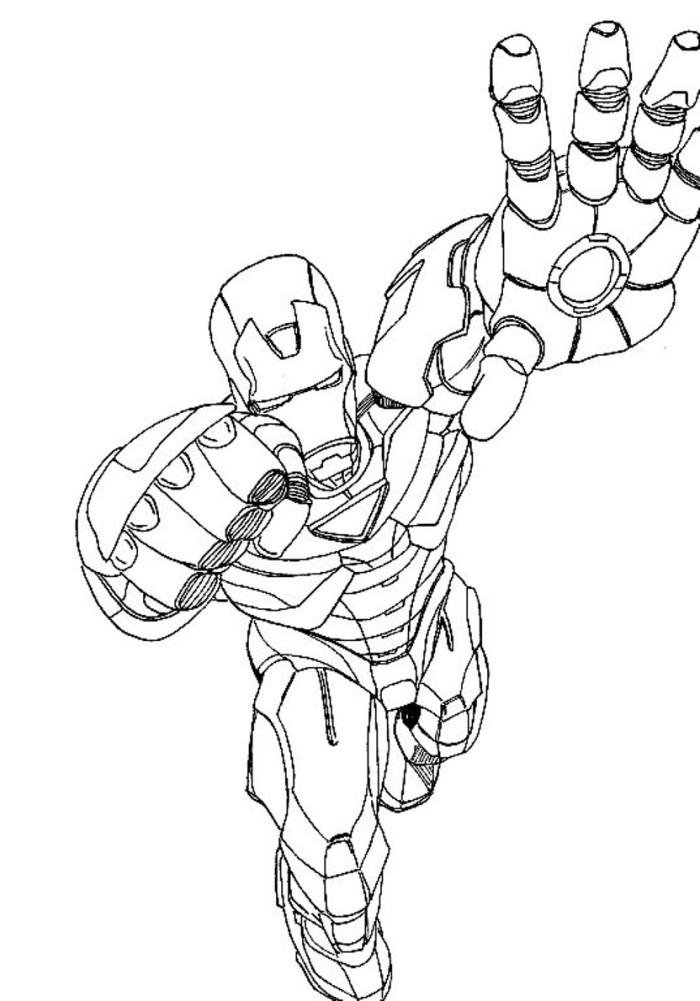 avengers dessins à colorier avengers iron man dessins à colorier – enfants