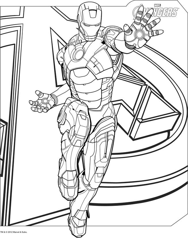 160 dessins de coloriage avengers imprimer sur page 15 - Dessin de avengers ...
