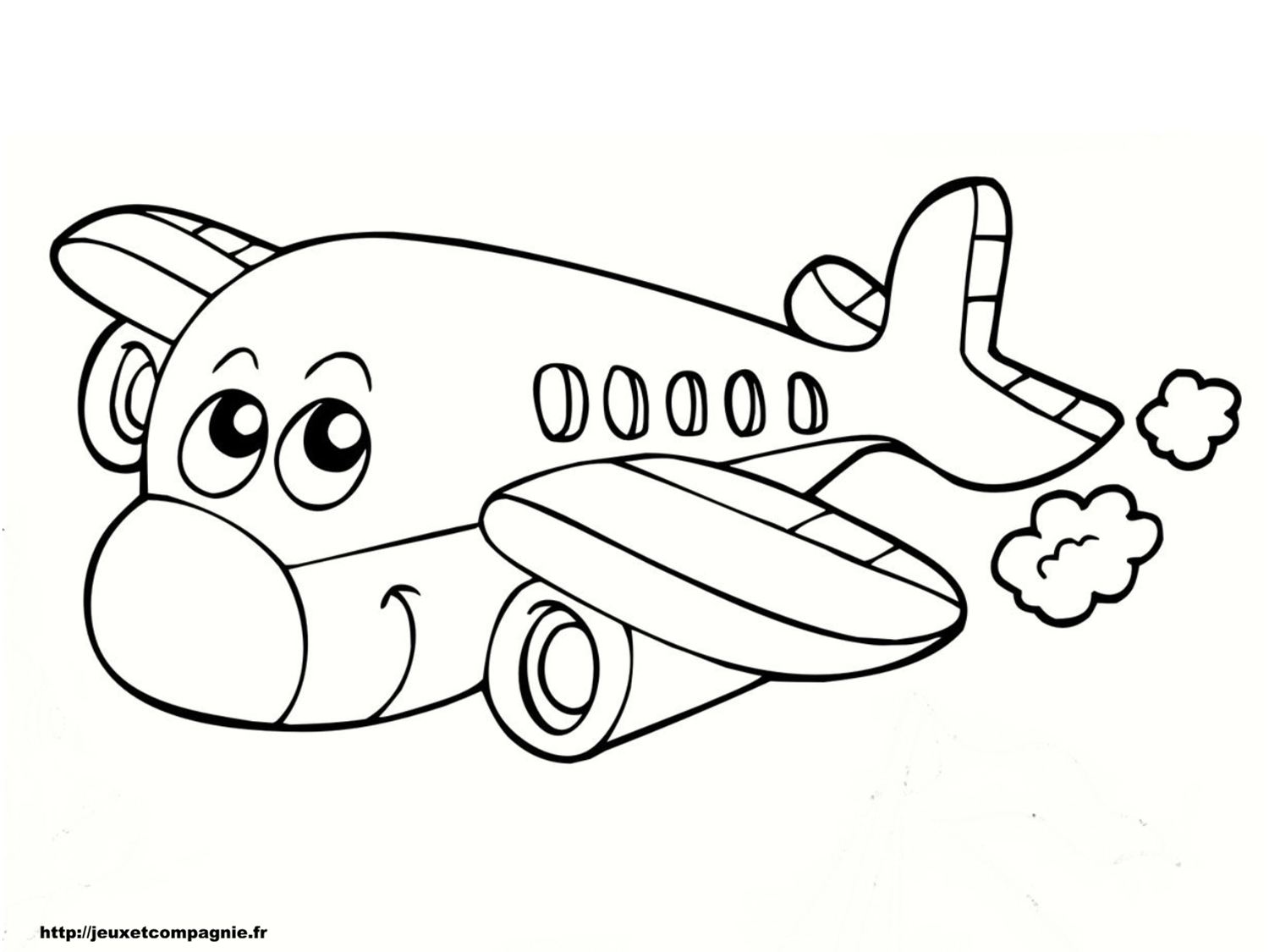 S lection de dessins de coloriage avion imprimer sur - Dessin de avion ...