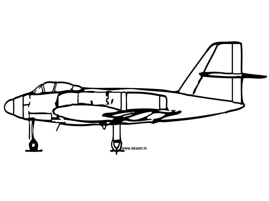 30 Dessins De Coloriage Avion De Chasse A Imprimer Sur Laguerche Com