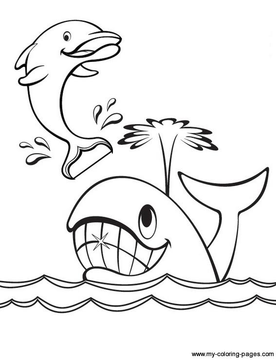 Dessin gratuit baleine a imprimer
