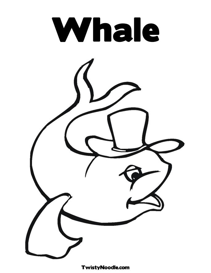 blue whale eating coloring pages - photo#31