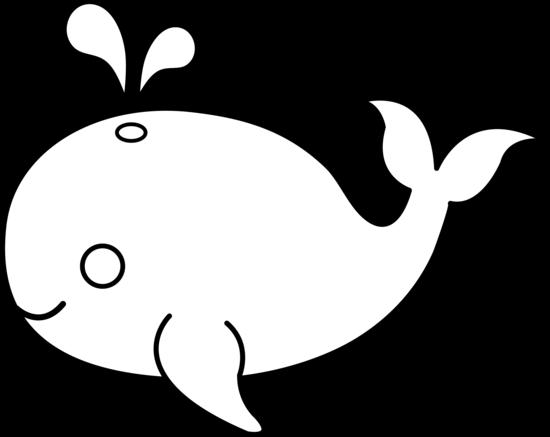 Dessin de baleine gratuit à imprimer et colorier