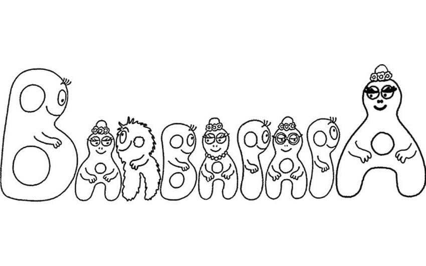 108 dessins de coloriage barbapapa imprimer sur - Coloriage barbe a papa ...