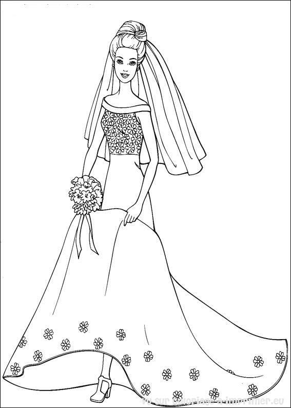 164 Dessins De Coloriage Barbie A Imprimer Sur Laguerche Com Page 6
