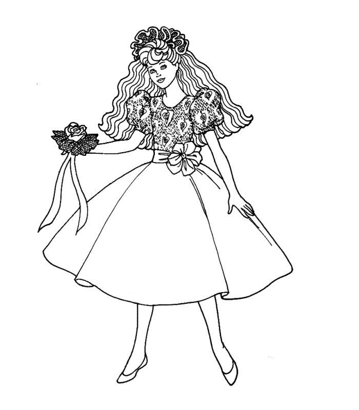 164 dessins de coloriage barbie imprimer sur laguerche - Barbie sirene surfeuse ...