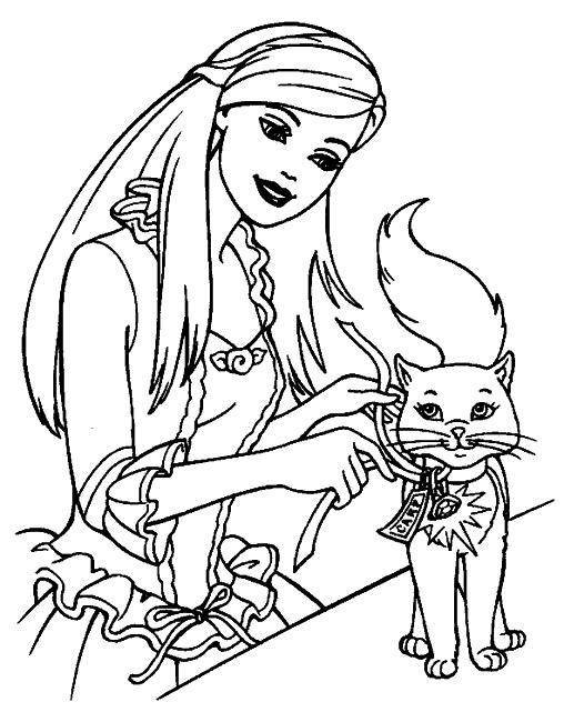 Assez 164 dessins de coloriage barbie à imprimer sur LaGuerche.com - Page 9 PM11