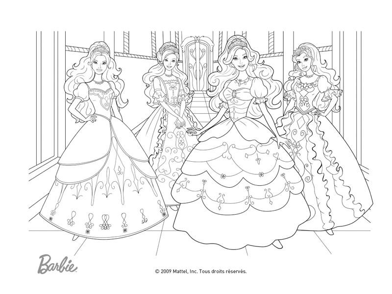 Célèbre 164 dessins de coloriage barbie à imprimer sur LaGuerche.com - Page 14 XH73