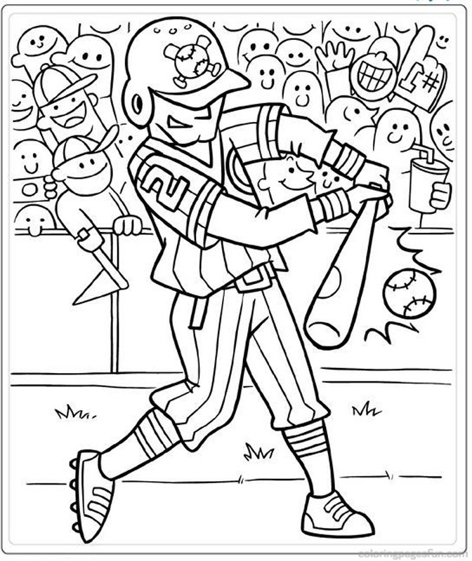 dodgers baseball coloring pages - photo#22