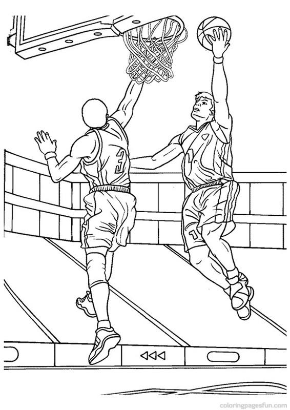 Dessins Imprimer Sur Sélection À Coloriage Basketball De dCoWQBxer
