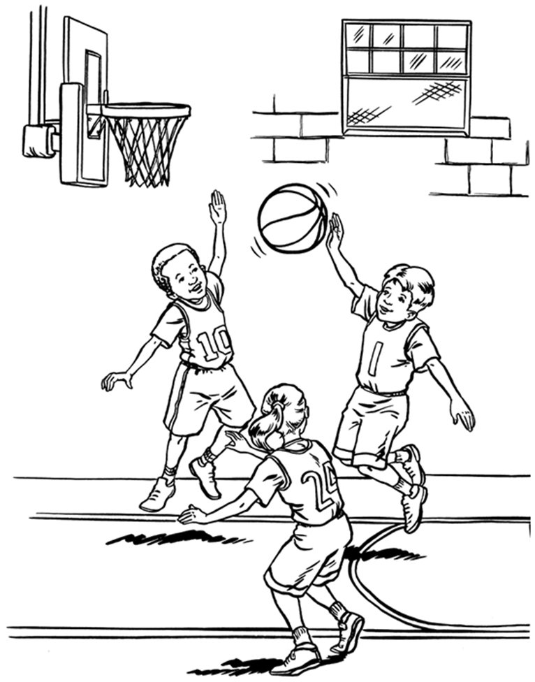 Dessins Imprimer Coloriage Sur Basketball De Sélection À 8O0Pknw