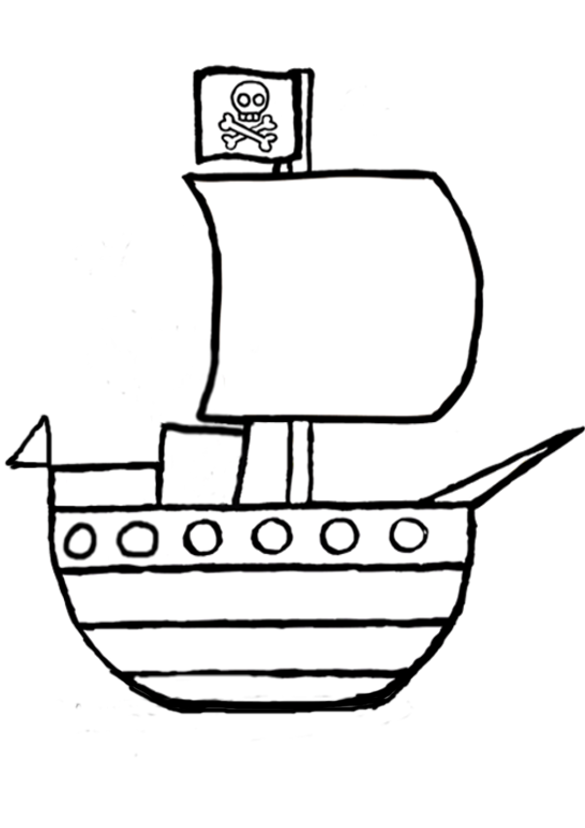 image 18001 coloriage bateau gratuit - Dessin De Bateau