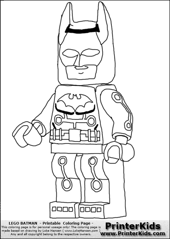 lego batman dessins à colorier coloriage