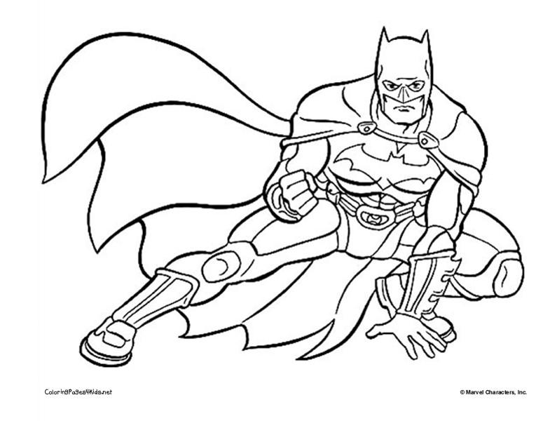 Coloriage Batman Dessin Anime.310 Dessins De Coloriage Batman A Imprimer Sur Laguerche Com Page 40