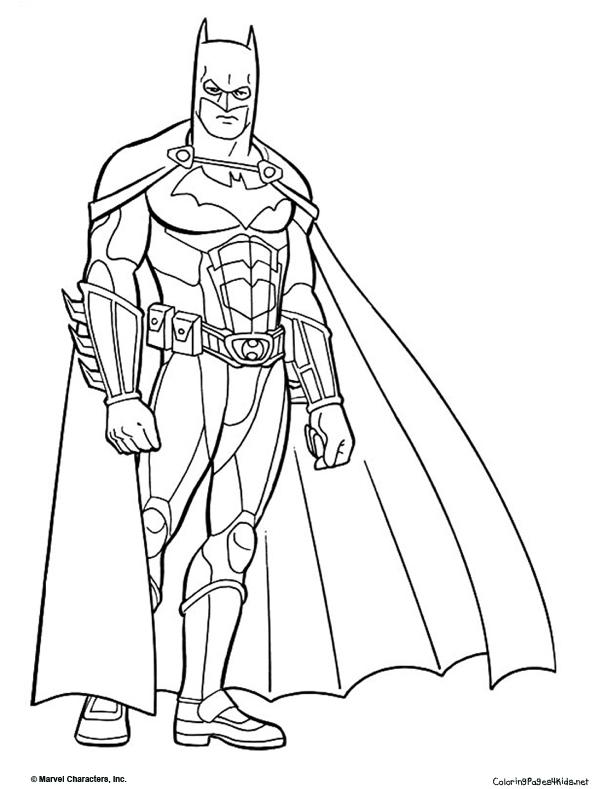batman dessins à colorier dessins à colorier pour enfants
