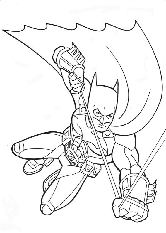 batman dessin à colorier