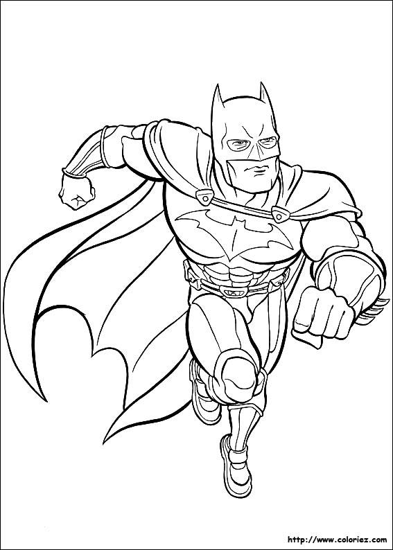 310 dessins de coloriage batman imprimer sur page 34 - Batman a colorier ...