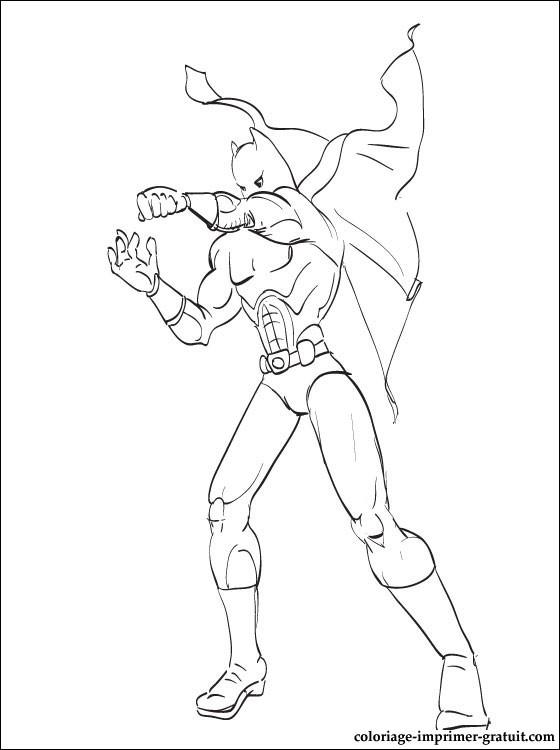 coloriage gratuit ou dessin a colorier batman batman coloriage