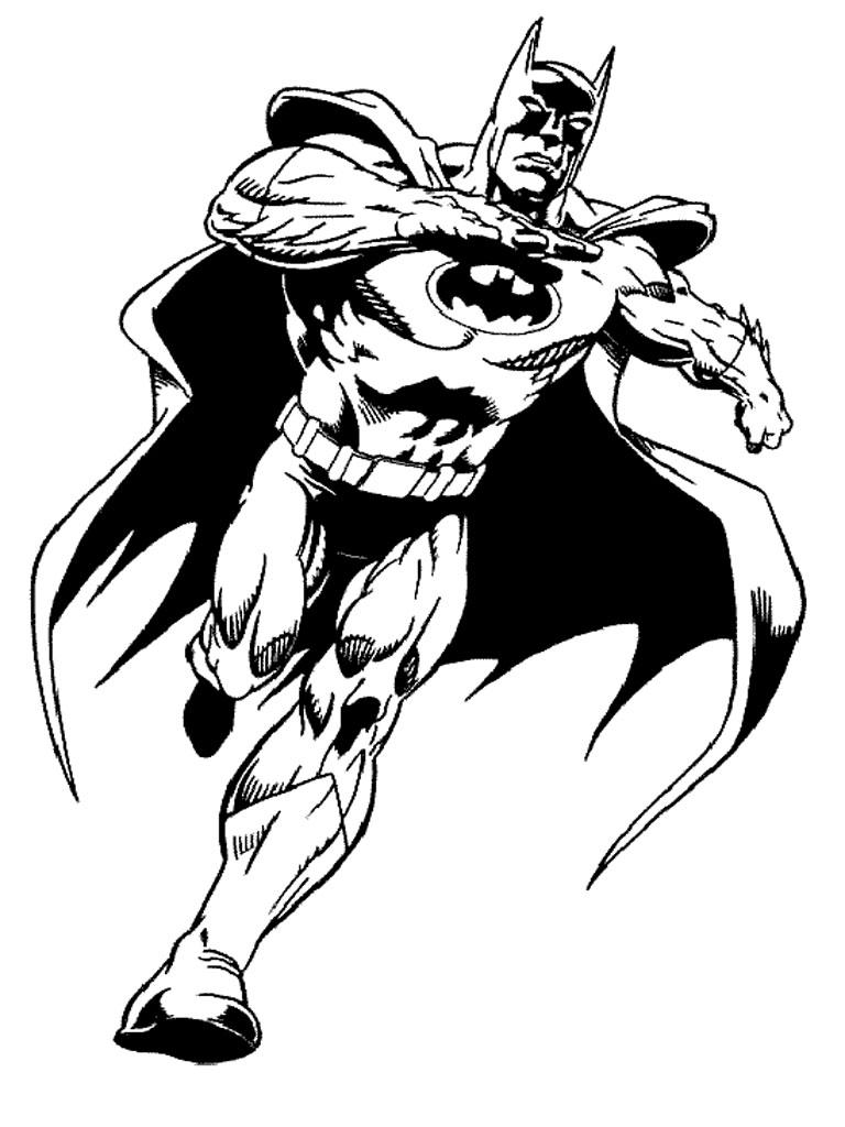 batman dessins à colorier à imprimer realistic dessins à colorier