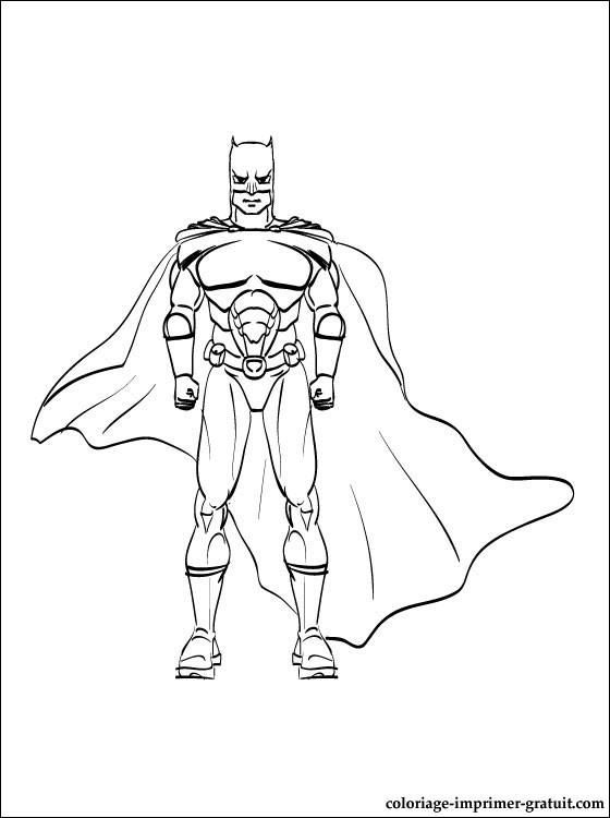 coloriage batman a imprimer coloriage à imprimer gratuit