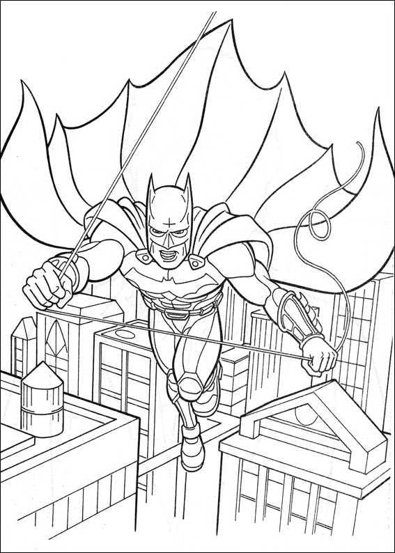 batman dessin à colorier
