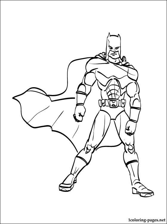 batman in all its glory dessin à colorier for boys dessins à colorier