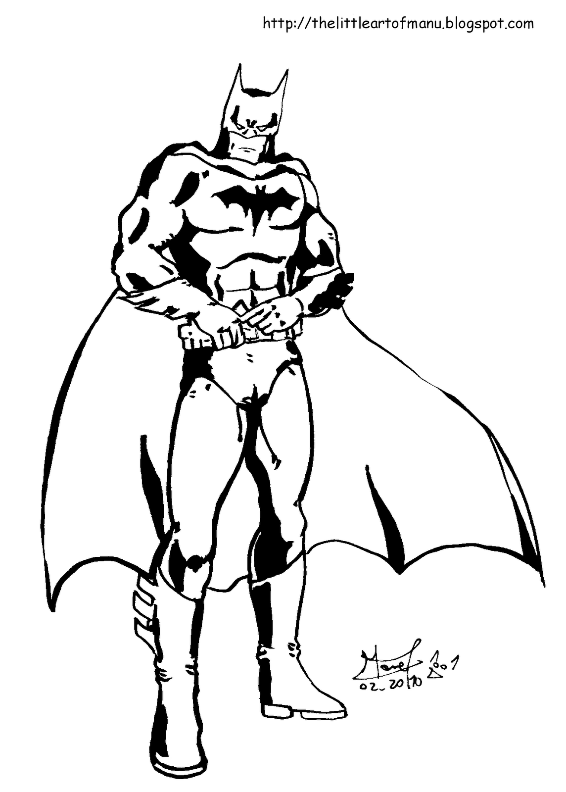 coloriages batman