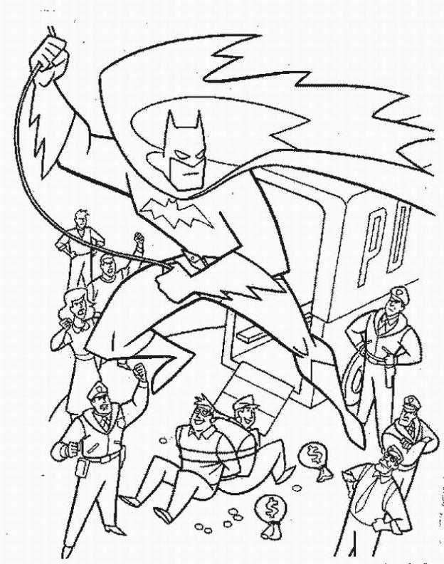 batman dessins à colorier learn à dessineriage