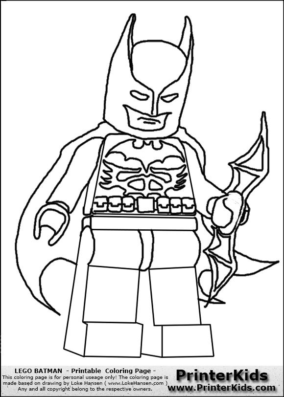 lego batman dessins à colorier coloriage