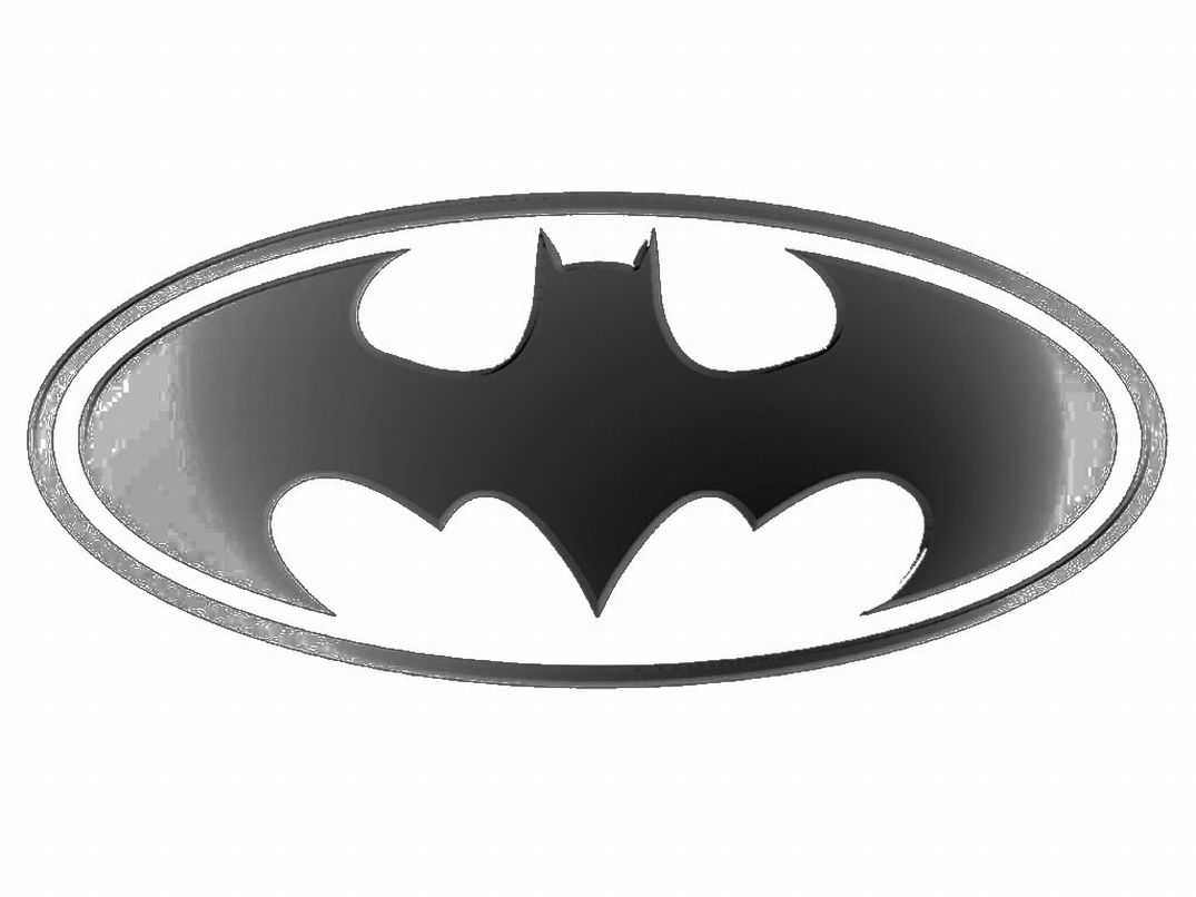 enfants coloriage batman logo super hero