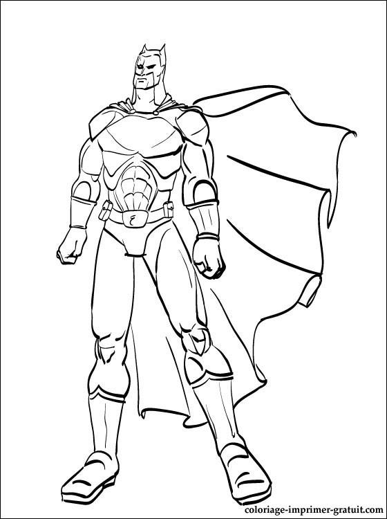 coloriage noir et blanc batman coloriage à imprimer gratuit
