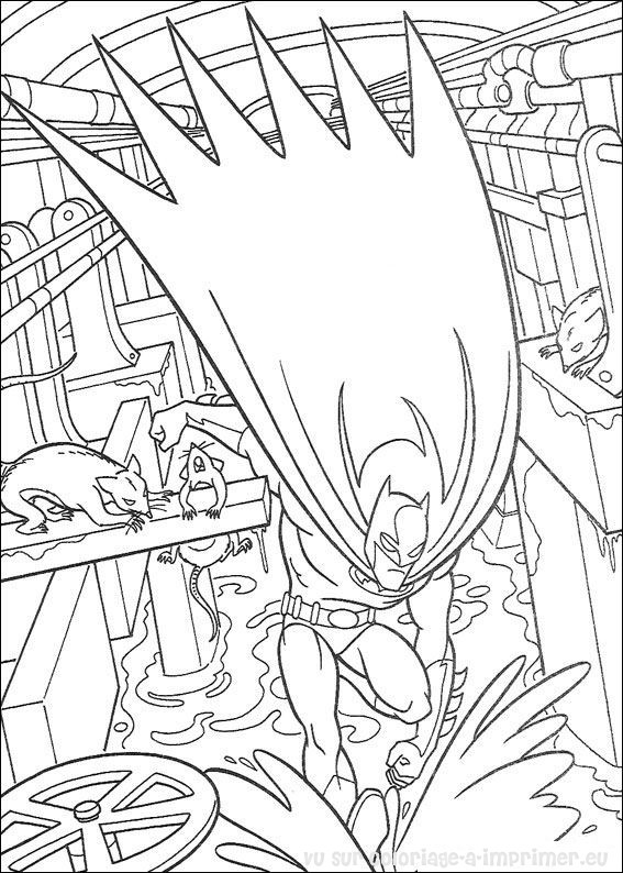 coloriage batman coloriage de coloriage batman