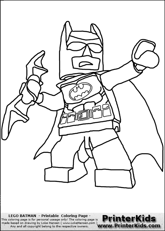 coloriage batman-lego
