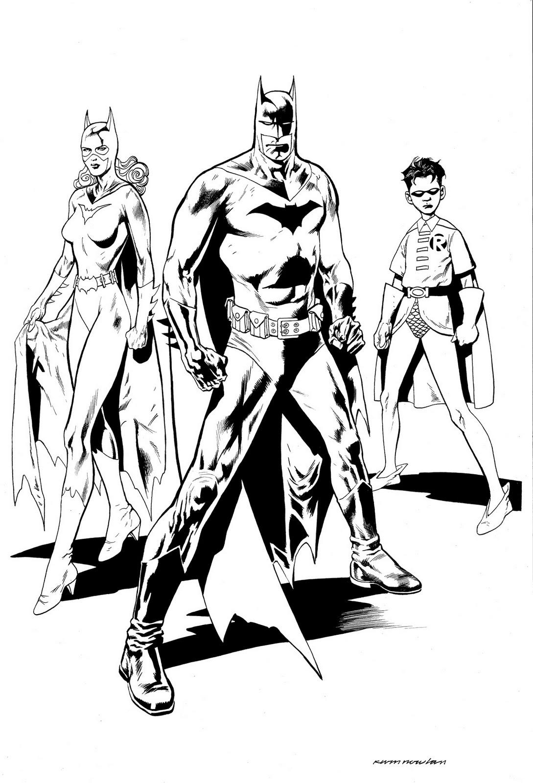 batman-robin coloriage dessin gratuit à colorier site