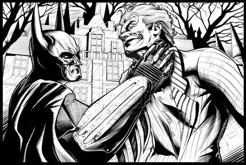 batman inspired artwork