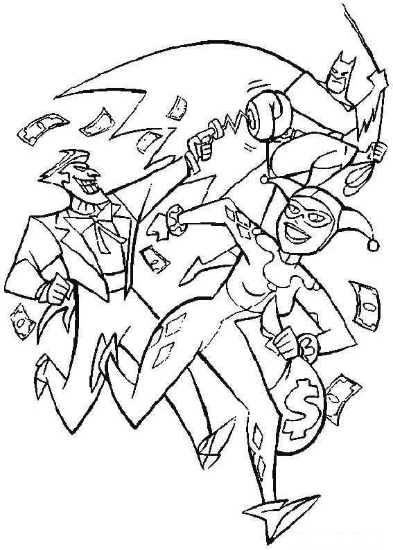 coloriage batman -