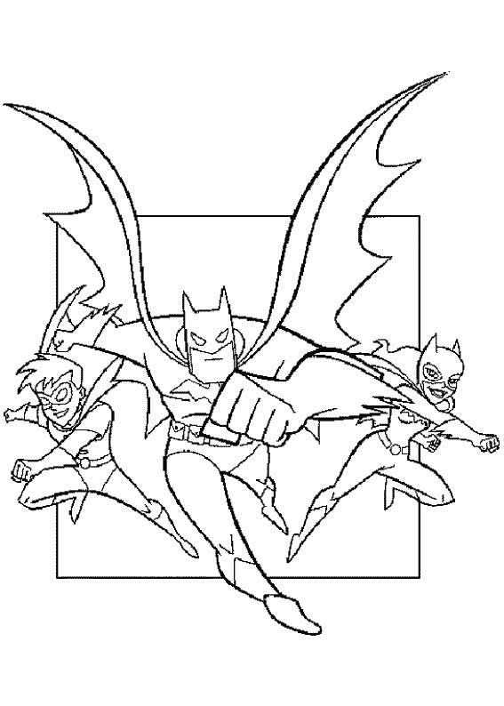 coloriage batman -