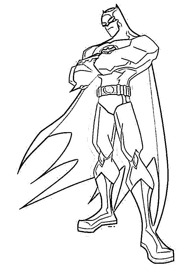 labyrinth labour: batman dessins à colorier
