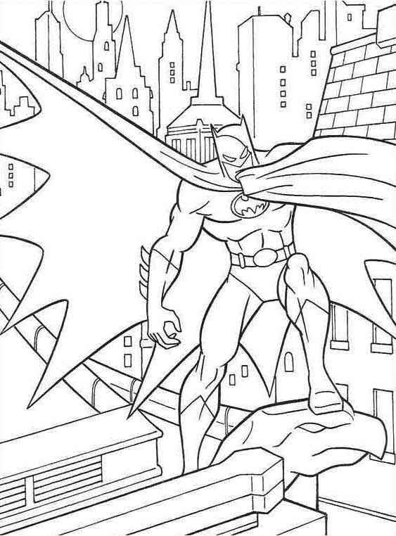 back to dessins à colorier batman catégorie