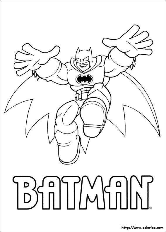 coloriage lego batman dessins à colorier