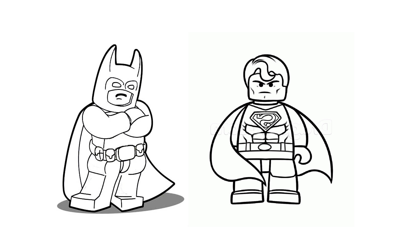 310 dessins de coloriage batman imprimer sur page 6 - Batman a colorier ...