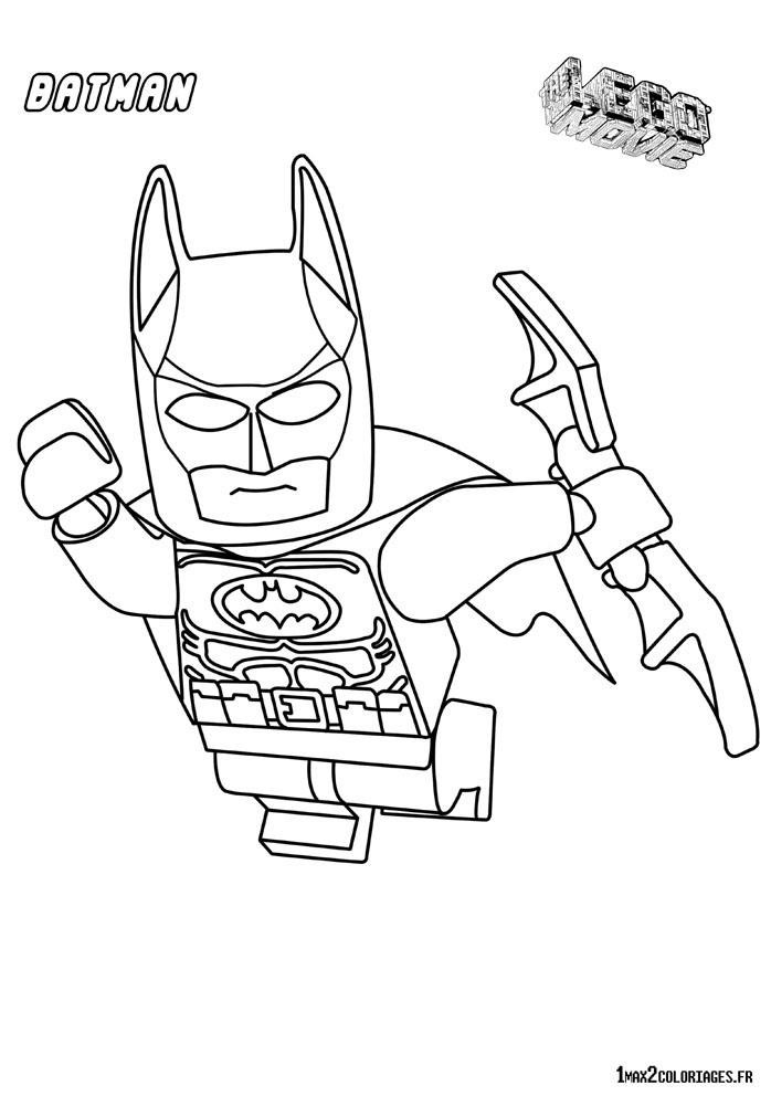 dessin de batman a imprimer