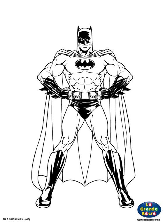 coloriages batman de face tout batman tlchargement pdf