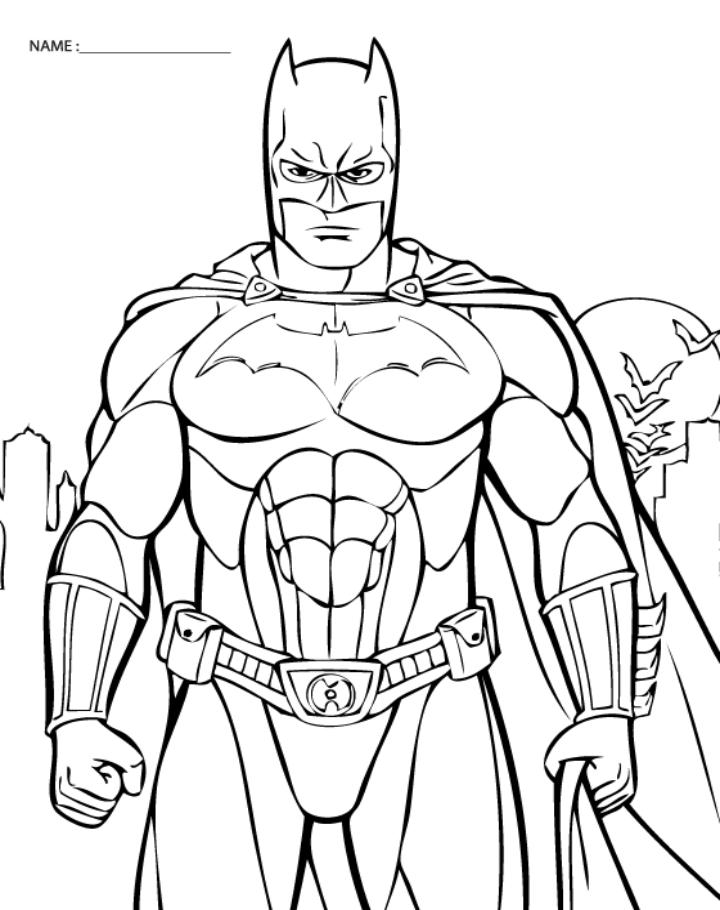 310 dessins de coloriage batman à imprimer sur LaGuerche ...