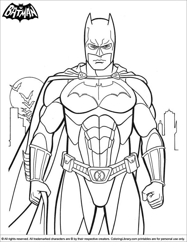 batman dessin colorier back to batman coloriage - Batman Gratuit