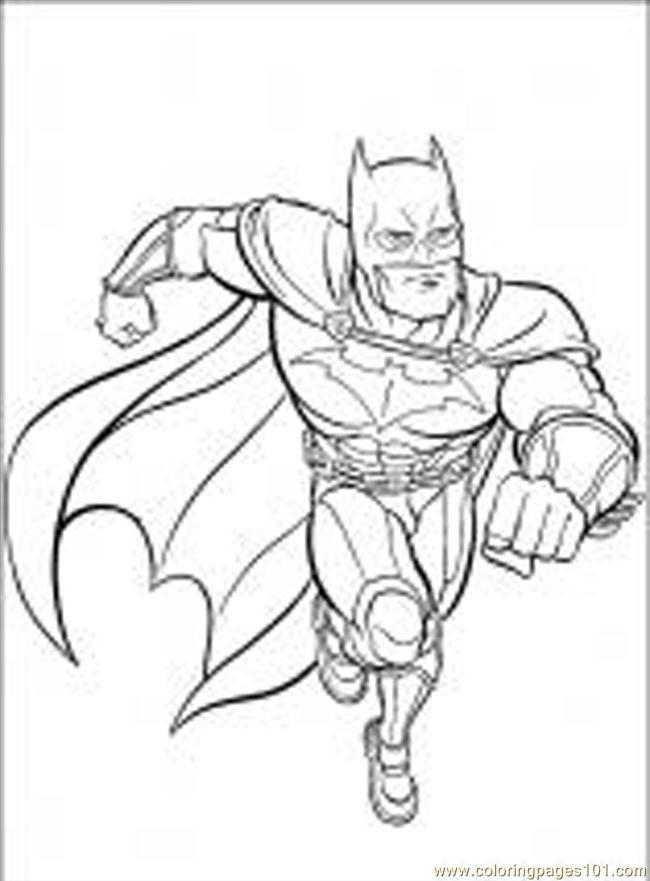 dessins colorier batman cartoons batman gratuit imprimer coloriage - Batman Gratuit