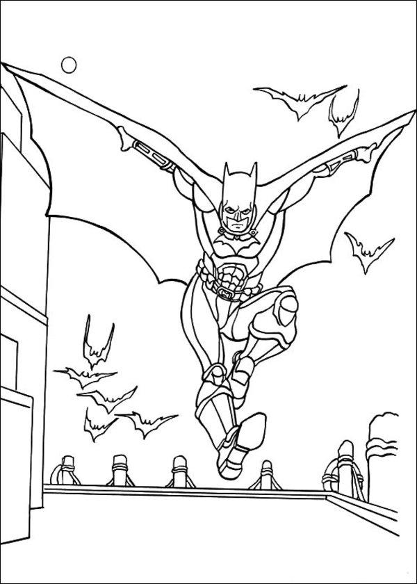 batman dessins à colorier image – batman dessins à colorier gratuit for