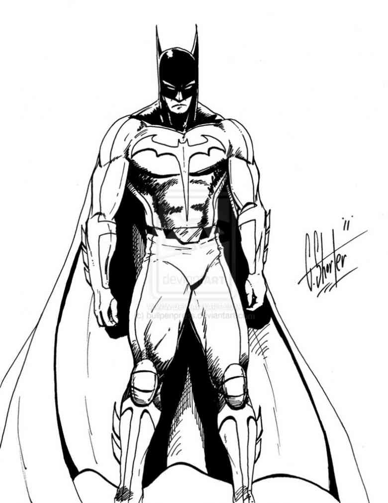 coloriage batman coloriage gratuit