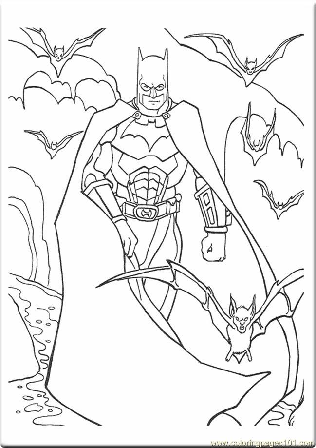 dessins à colorier batman dessins à colorier (cartoons batman) gratuit