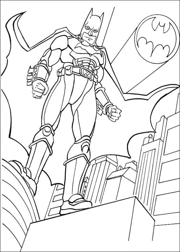 batman dessins à colorier image – batman dessins à colorier gratuit for